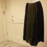 『irise(イリゼ)バイカラープリーツスカート』の画像