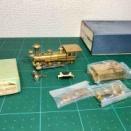 KTM弁慶号 未塗装キットを組む 1