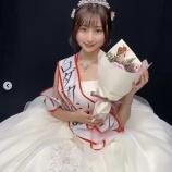 『【元乃木坂46】おめでとう!米徳京花『中央大学ミスコン』結果発表!!!純白ドレス姿が公開へ!!!!!!』の画像
