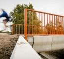 ついに3Dプリンタでコンクリート橋が作成される。従来工法よりもコンクリート使用量が大幅減。