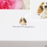 『犬の型押しがかわいい財布を誕生日プレゼントにもらいました♪』の画像