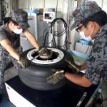 【動画】航空自衛隊「戦闘機のタイヤ組換って見たことありますか?お見せしましょう」