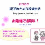 『おかげ様で8周年!「3万円からのFX投資生活」』の画像
