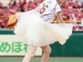 松本伊代(50) 背番号「16」のユニホームで楽天戦始球式に登場(画像あり)