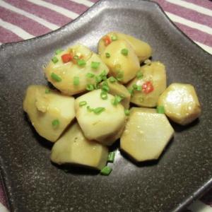 里芋の中華風お浸し