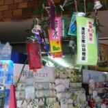 『南山幼稚園の皆さん、七夕の笹ありがとう!』の画像