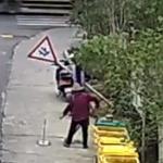 【動画】中国、おばちゃんが交通標識が自分の近道の邪魔と引っこ抜いてしまう! [海外]