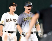 【阪神】サンズ 起死回生!9月打率・176不振の助っ人ここぞで意地の九回同点二塁打