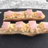 2つの簡単な事をするだけ!フランスパンのオープンサンドが食べやすくなる(レシピ付)