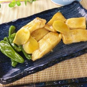 オイスターソースで本格的に♪白身魚の中華風煮付け