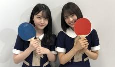 すっご!乃木坂46メンバーは卓球のラケットよりも顔が小さい…!