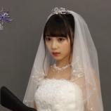 『【乃木坂46】目がパッチリw ウェディングドレス姿の与田ちゃんがとてつもなく美しすぎるwwwwww』の画像