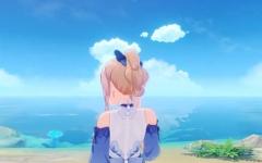 【原神】ジンさんの水着、背中スケてるうううううう?