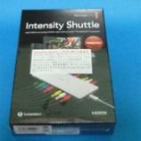 『【Mac】Intensity Shuttle Thunderbolt国内発売決定 → 早速、注文。【HDMIゲームキャプチャー】』の画像