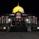 『【東京観光】築地本願寺 ---古代インド仏教様式の美しい寺!---』の画像