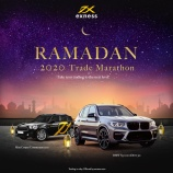『Let's participate Ramadan Trade Marathon in Exness! Trade & win a BMW X3 xDrive30i』の画像