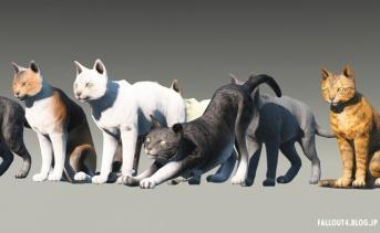 Fallout4 猫を作れるMOD