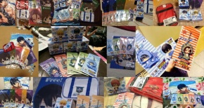 【Free!】アニくじ本日発売!!全国各地で売り切れ続出、公式ページはダウンするほどの大人気!!【画像】