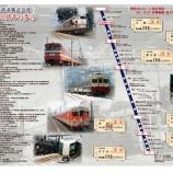 『東武鉄道「東武鉄道株式会社創立120周年記念乗車券」発売中』の画像