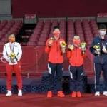 【東京五輪】卓球混合ダブルス「1位日本・2位中国・3位台湾」写真で「日台港 vs 中国」が勃発