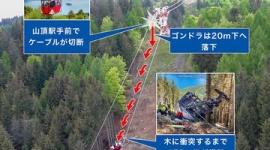 【イタリア】ロープウェー落下事故、生き延びた5歳児は父親が抱きしめて守った