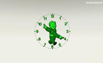 Vault Time - HUD Clock