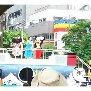 娘 神戸祭りに行く