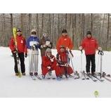 『スキー上達講座2期終了』の画像