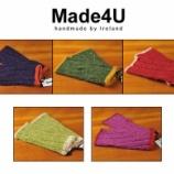 『Made4U アイルランド産ピュアウール100%をハンドメイドで仕上げた作品』の画像