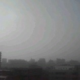 『今朝の戸田市は朝靄の中』の画像