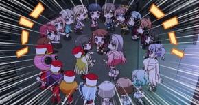 【ガルパ☆ピコ】第13話 感想 全員集合ライブ!もう1クールあるよ