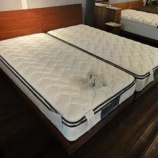 『【セール ベッド売場改装投売セール 2012夏】サータ社のペディック60/BOXトップ・F1P・F1N・PSマットレスを展示』の画像