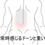 『背中の痛み、症例報告です。』の画像