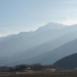 『霞む山々』の画像