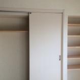 『リノベ記録69:Before&After寝室編 クローゼットの扉をとりかえた!のはなし』の画像
