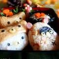 秋の炊き込みご飯弁当