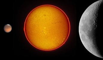 地球から見た太陽と月の大きさが丁度同じとか…どういうことだよ…