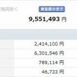 『【運用状況】2019年9月末の資産合計は955万円(60万円増加)だったよ!』の画像