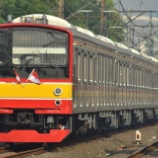 『【国旗掲出】205系埼京線ハエ11編成撮り直し』の画像