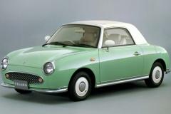 R1 パオが100万超 フィガロ400万超!? いま値上がりしている中古車たち