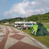 『2014年 7月12~13日 夕日海岸移動:深浦町・風合瀬海水浴場』の画像