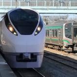 『常磐線不通区間で試運転中のE657系に遭遇した』の画像