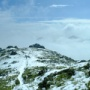 20/2/11/山頂付近は50cm程度の積雪/宮之浦岳登山