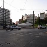 『ギリシャ アテネ旅行記4 徒歩でシンタグマ広場へ行き、国会議事堂前で衛兵交代式を見る』の画像