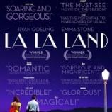 『映画『ラ・ラ・ランド』トレーラー!』の画像