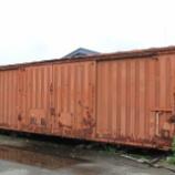 『放置貨車 ワム80000形ワム184284』の画像