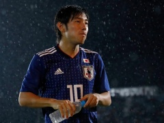日本代表・中島翔哉、ミャンマーに感謝する!