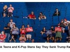 トランプ大統領、3ヶ月ぶりの大規模集会もガラガラ ⇒ 韓国人がイタズラでチケットを数十万枚登録していた事が発覚wwwwwww
