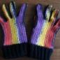 №165-1 Opalの糸でもかぎ編み手袋 1434