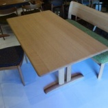 『【飛騨の家具】シラカワのRAPTシリーズのLDテーブルST-R57557が入荷』の画像